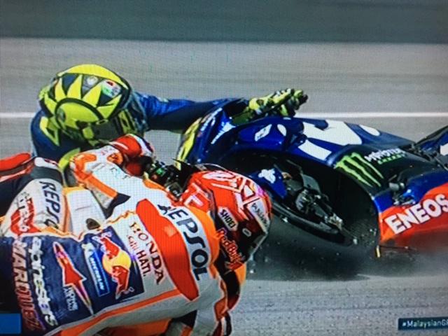 Valentino Rossi Crash Sepang>