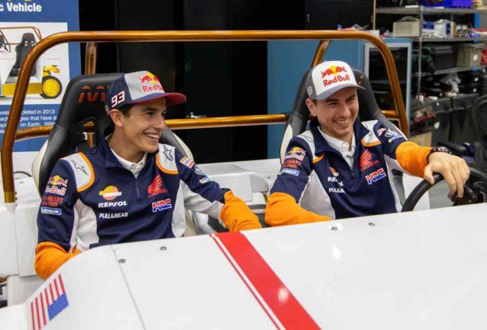 Jorge Lorenzo e Marc Marquez