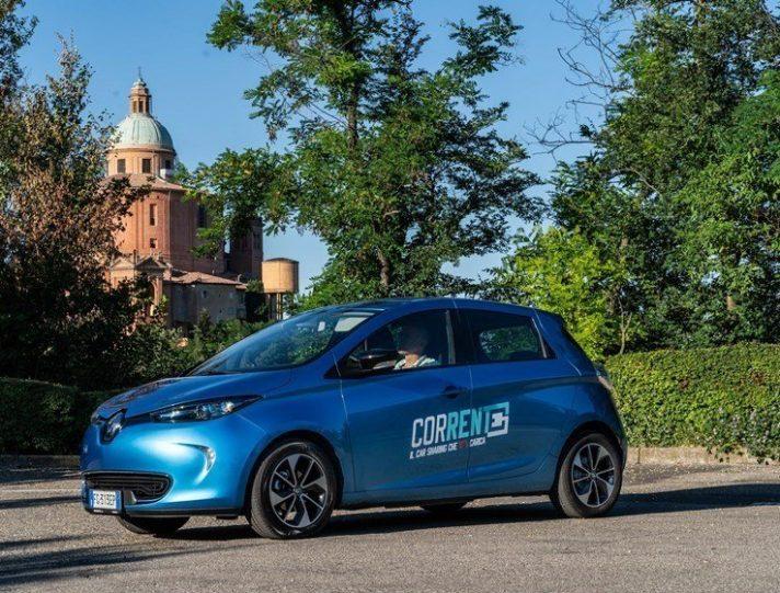 Car Sharing Bologna Corrente Renault Zoe