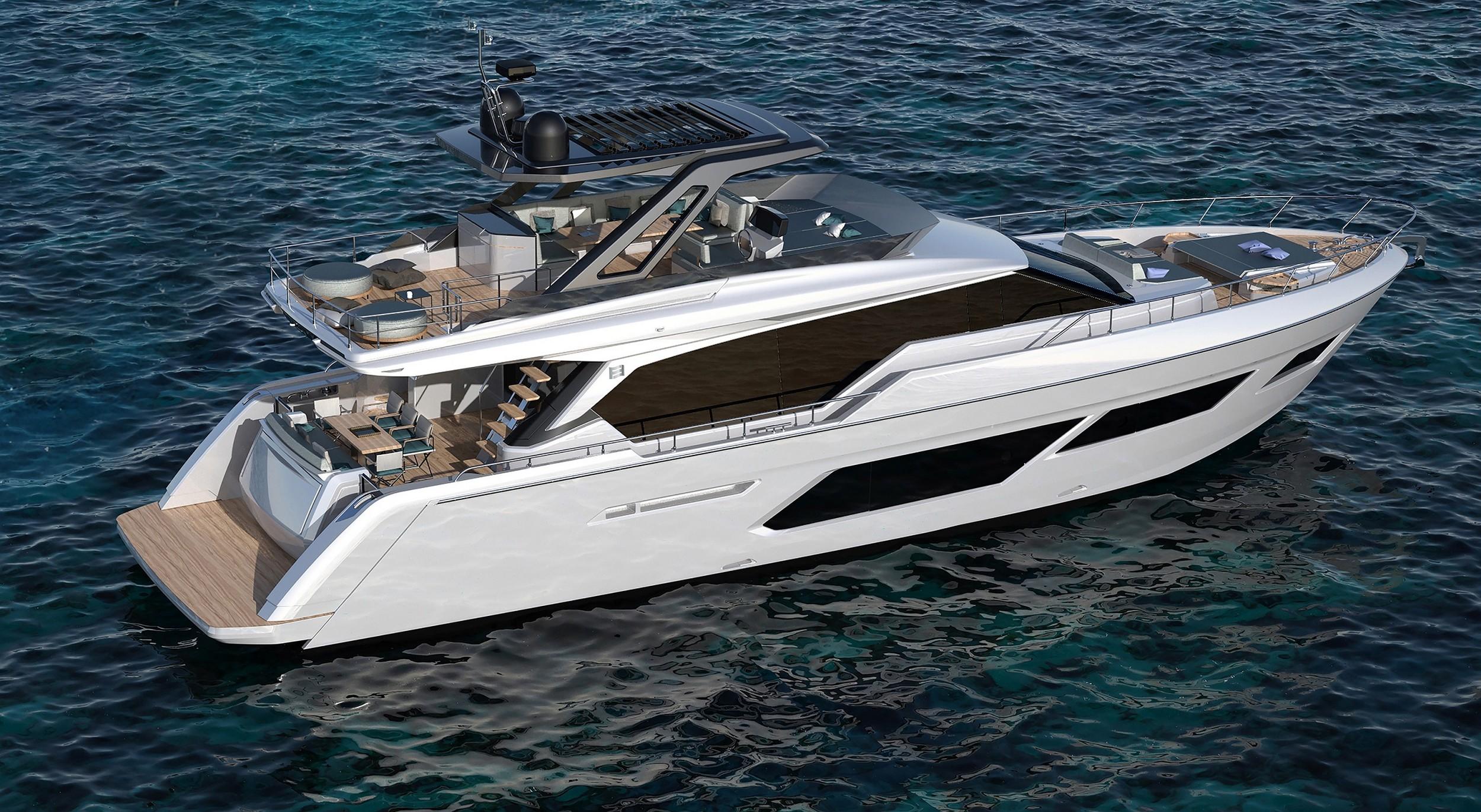 Ferretti Group | 3 anteprime mondiali | Cannes Yachting Festival