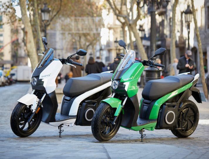 Scooter elettrici Silence S01
