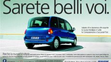 spot tv fiat multipla