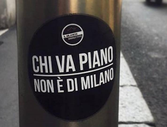 milanese ibruttito Traffico a Milano