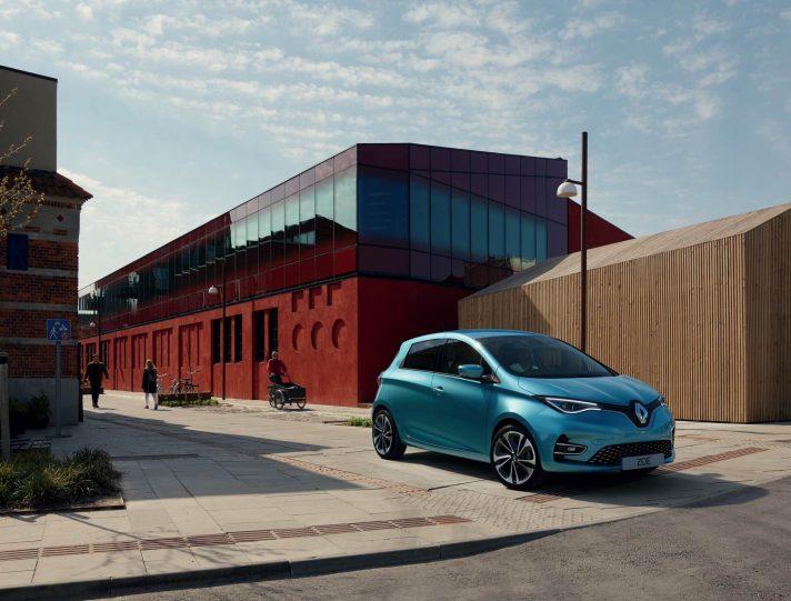 Nuova Renault Zoe 2019