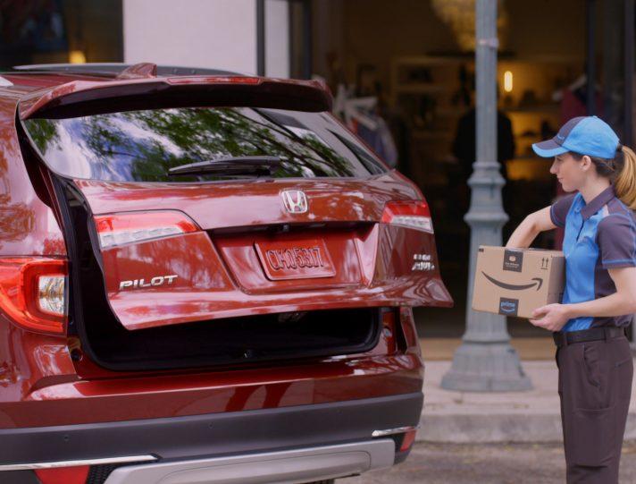 Honda Amazon Key Delivery Depiction