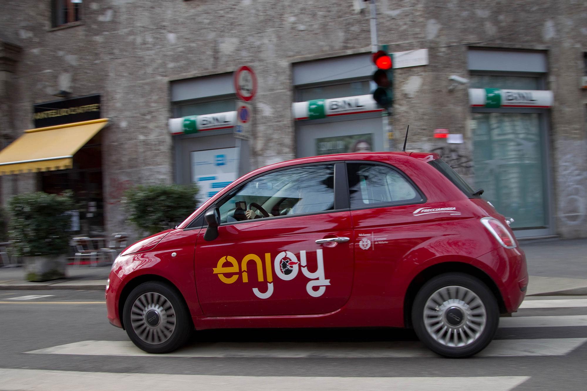 Coronavirus Il Car Sharing Enjoy Rimane Attivo Quotidiano Motori