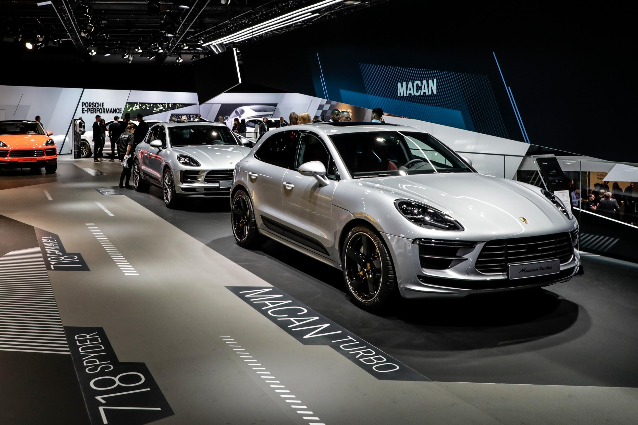 Porsche Macan Turbo: top di gamma con più potenza e minori consumi - Quotidiano Motori