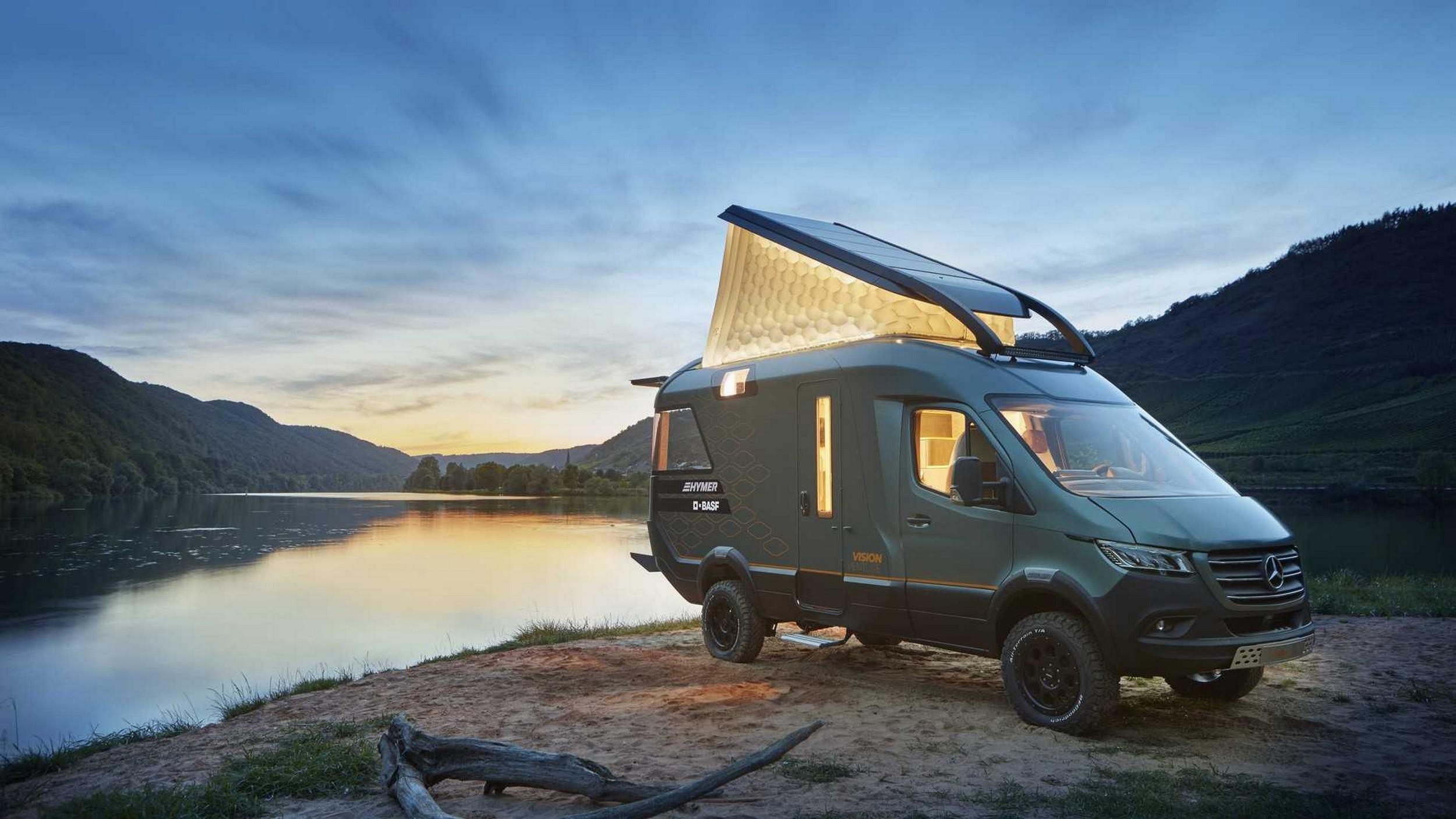 Hymer Van Concept Vision Venture su base Mercedes-Benz Sprinter