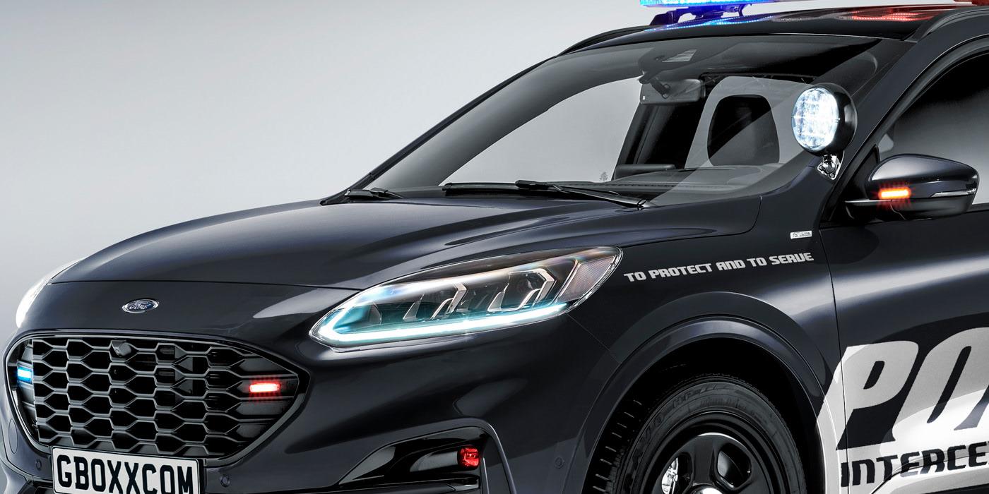 Ford Kuga della polizia americana: è cattivissima! - Quotidiano Motori