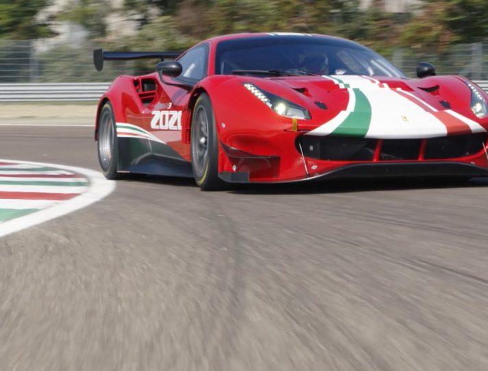 Ferrari 488 GT3 Challenge EVO 2020