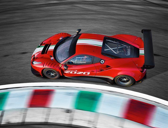 Ferrari 488 GT3 Challenge EVO 4