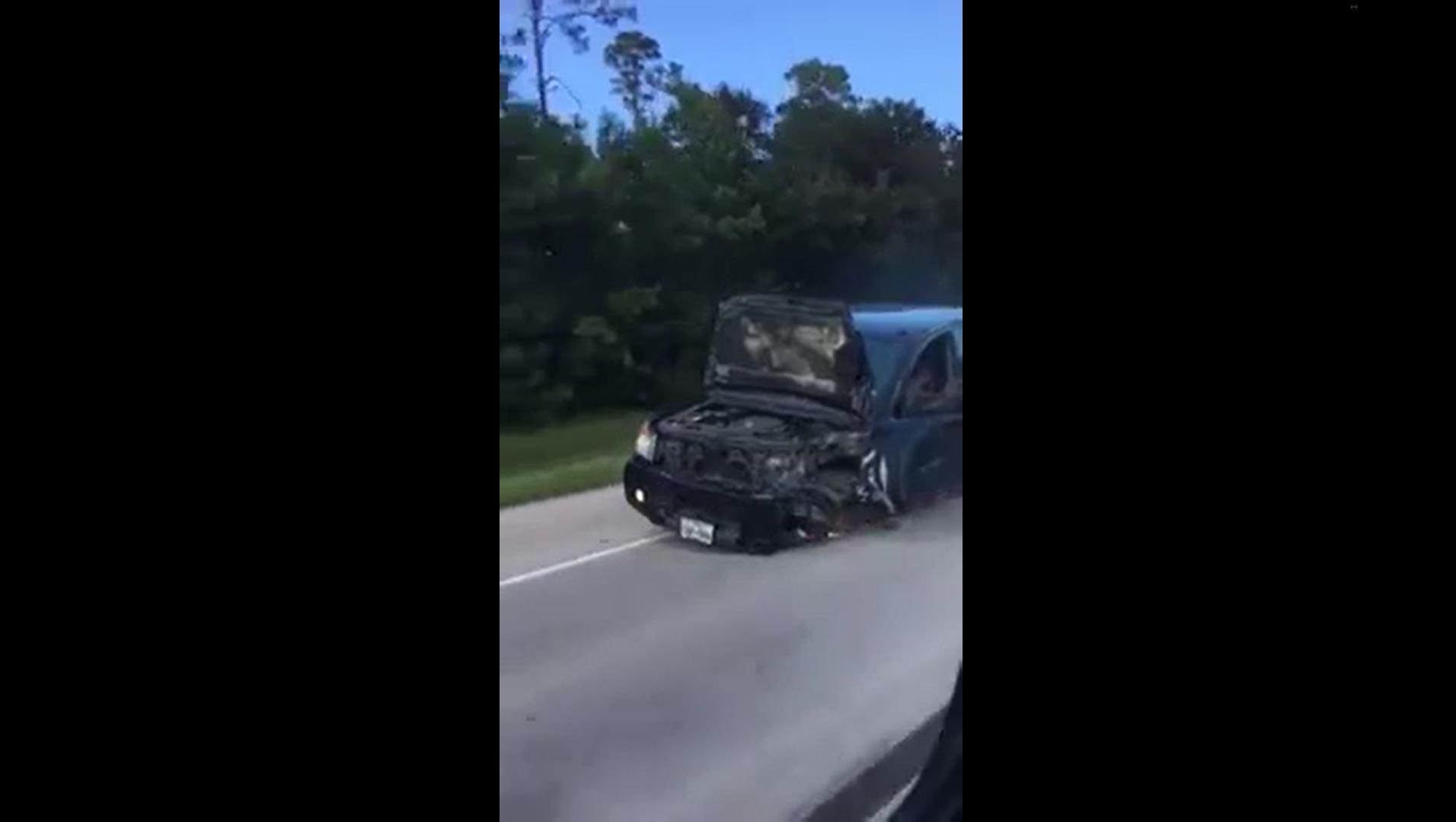 Quando l'auto incidentata non vuole morire... [Video] - Quotidiano Motori