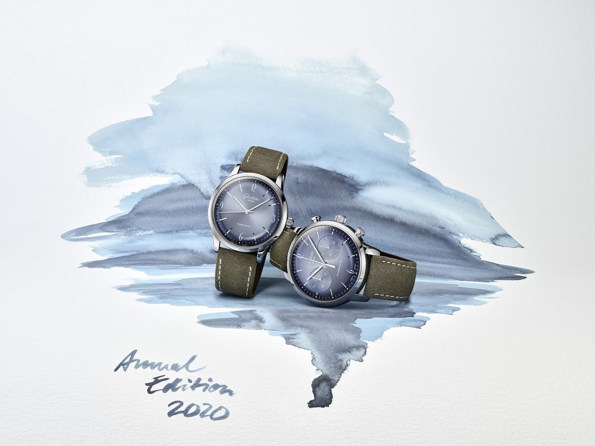 Glashutte Original Sixties 2020: l'elegante azzurro ghiaccio
