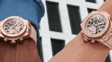 Hublot Garage Italia Big Bang Millennial Pink