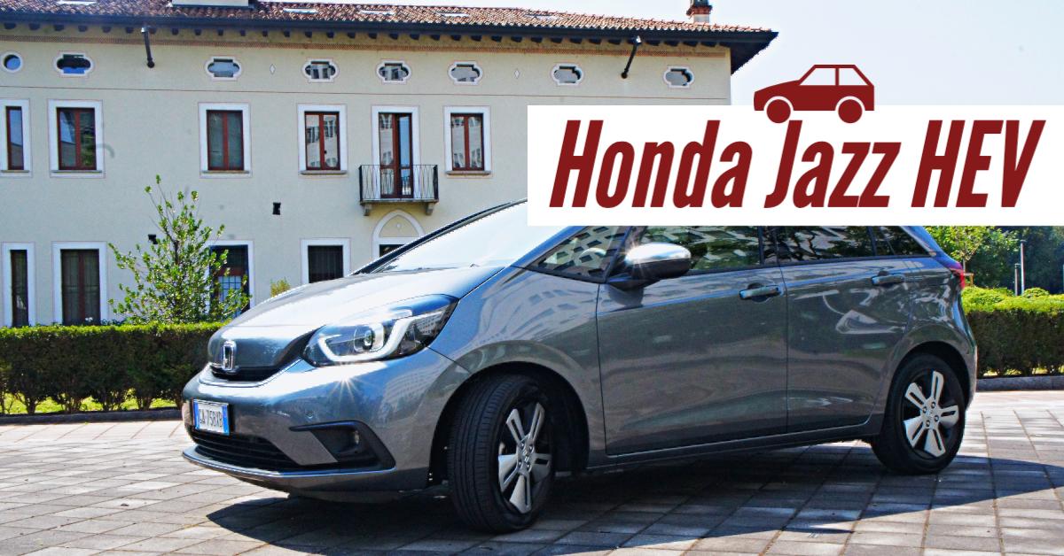 Nuova Honda Jazz HEV: l'abbiamo provata in giro per Milano! [Test Drive]