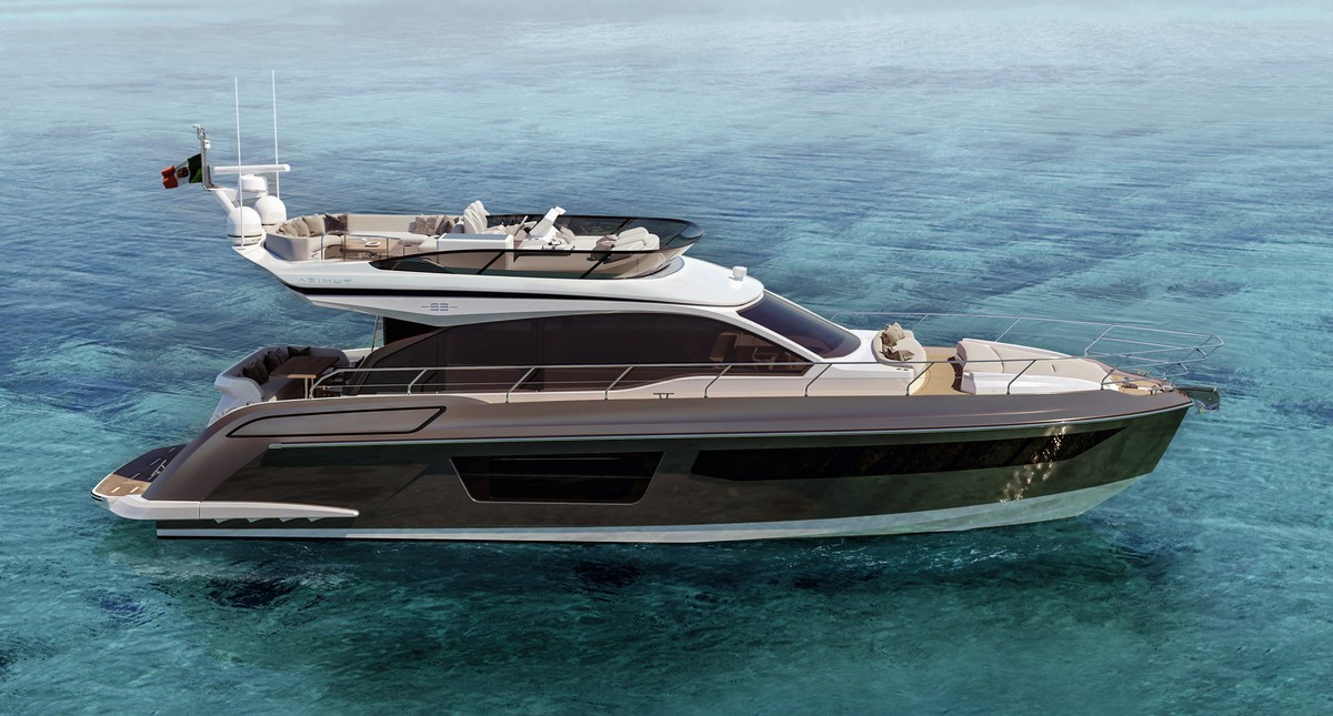 Azimut 53 Flybridge: bello e spazioso, lo yacht perfetto per la famiglia!