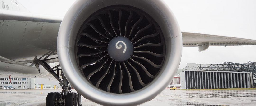 Perché vengono dipinte le spirali sui coni dei motori degli aerei?