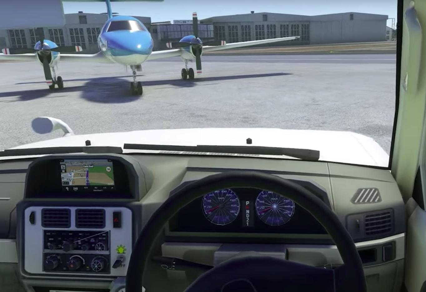Perchè su Flight Simulator 2000 c'è anche una Mitsubishi ...