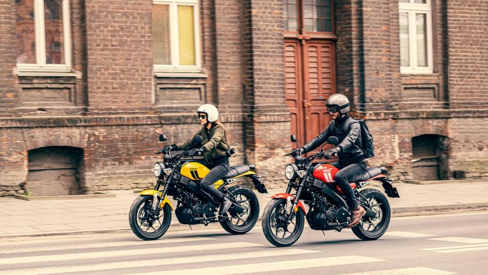 Yamaha XSR125 2021: motore, prezzo e caratteristiche