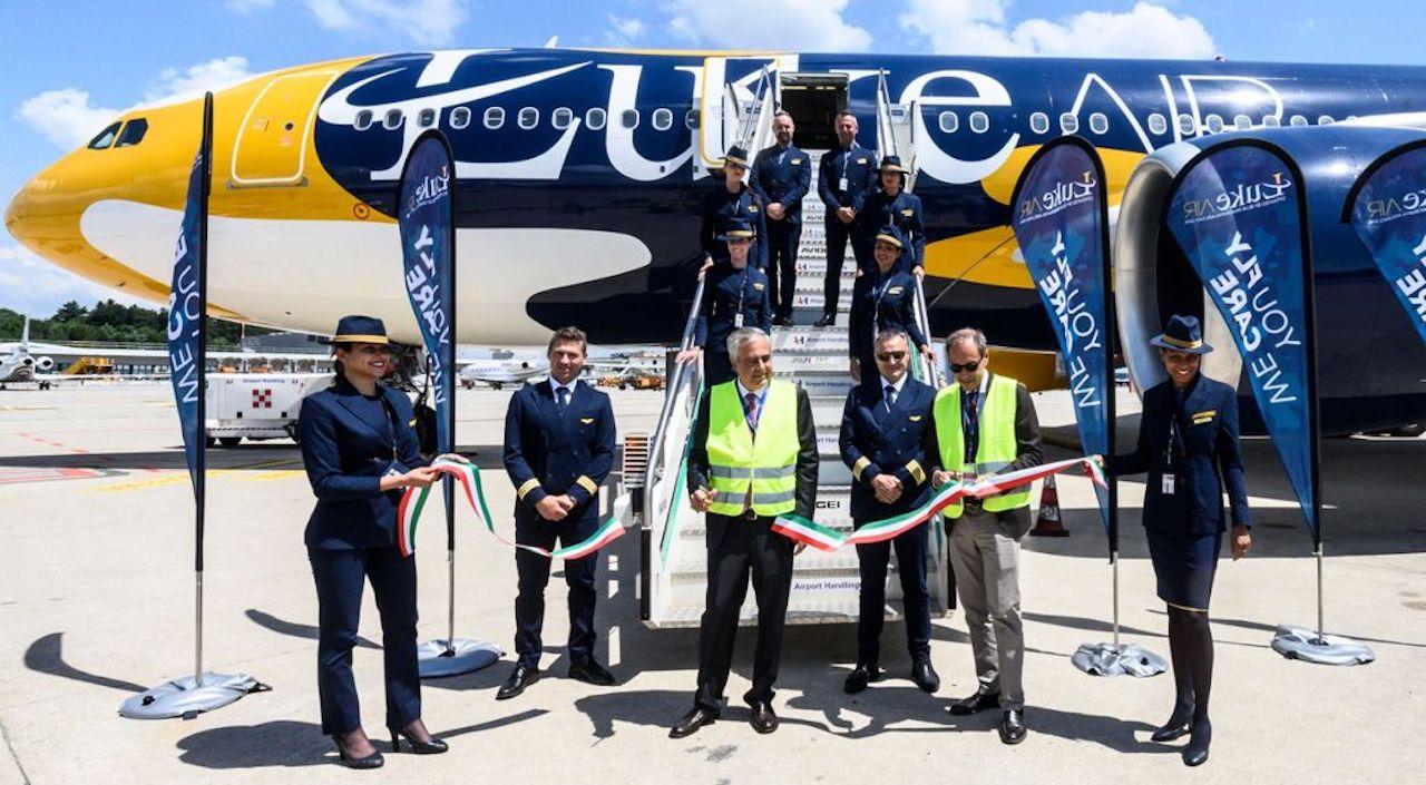 C'è un nuovo Airbus A300-200 per Luke Air di Blue Panorama