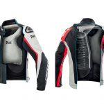 airbag da moto giacca Dainese protezione dorsale