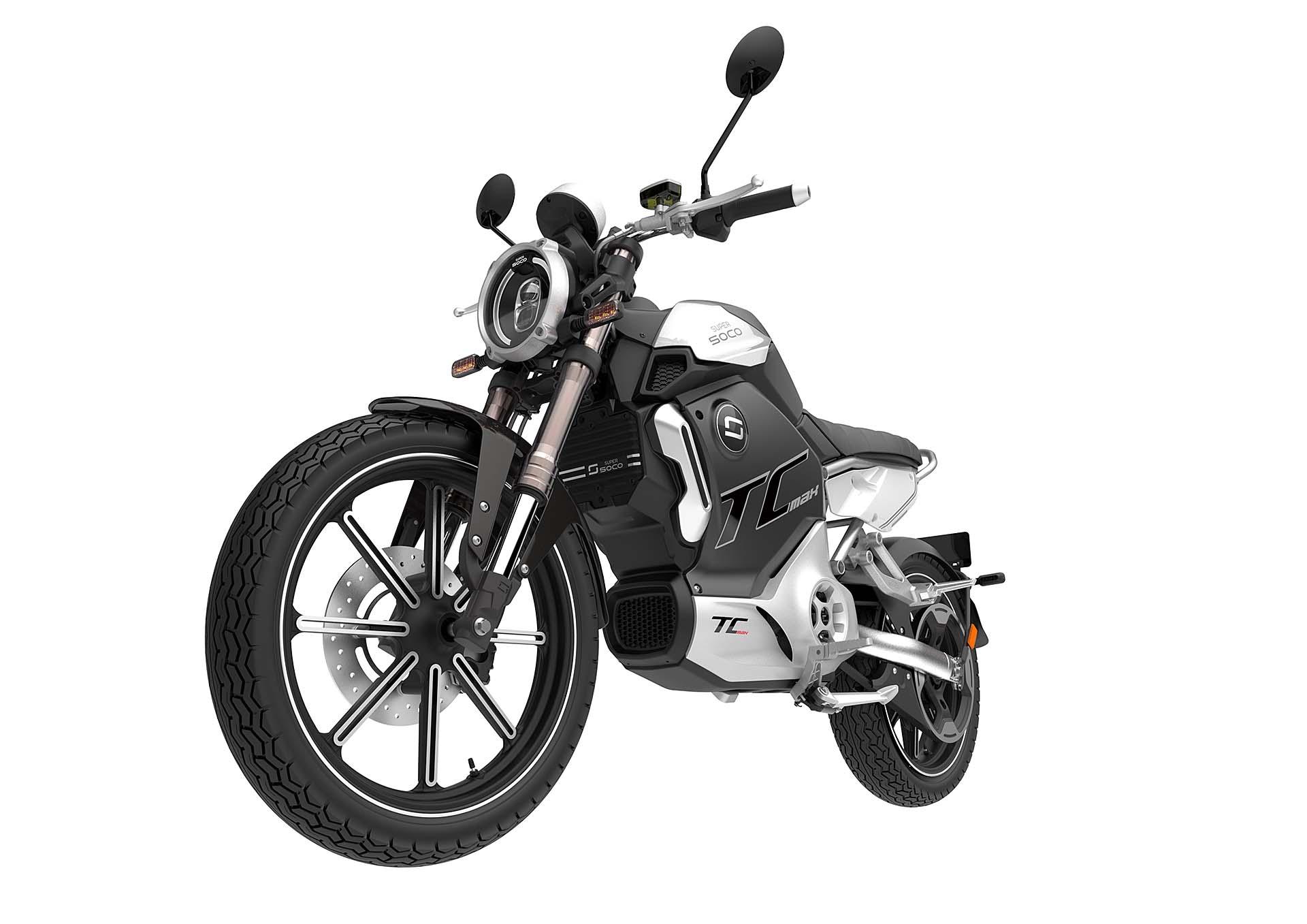 Moto électrique 125 SUPER SOCO TC MAX ESSAI exclusif