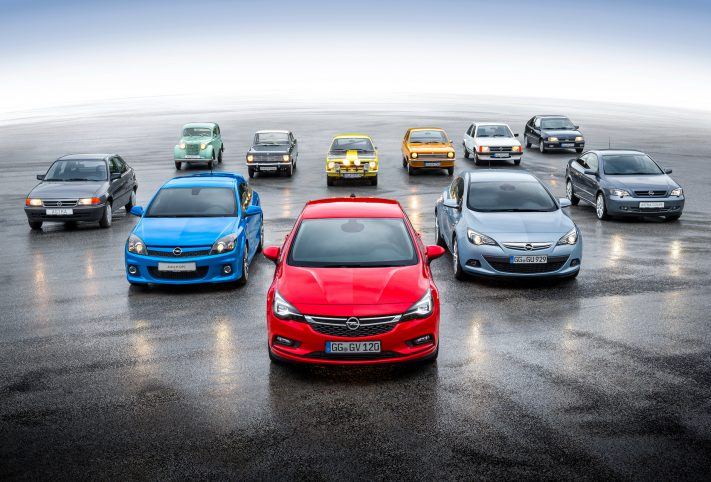 Opel Astra, i modelli storici