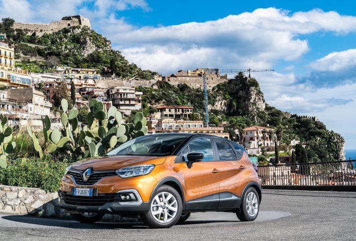 Renault Captur 2019 3/4 anteriore Taormina