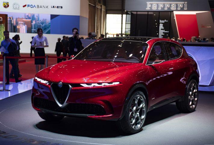 Alfa Romeo Tonale concept, il primo SUV ibrido plug-in del Biscione