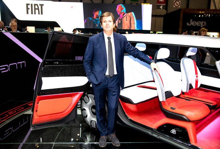 Olivier Francois presenta la Fiat Concept Centoventi