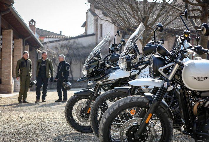 Triumph Adventure Academy gamma moto prova sterrato