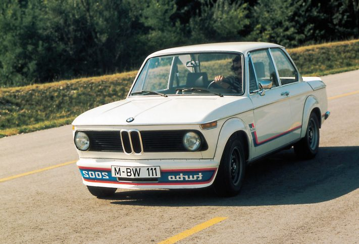 BMW 2002 Turbo, foto storiche
