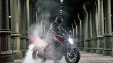 MV Agusta Brutale RR SCS 2020 Moto Burn Out