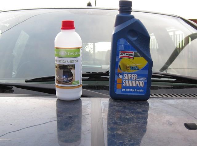 Lavaggio auto senz'acqua: lo abbiamo provato per voi