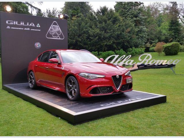 Alfa Romeo Giulia Quadrifoglio da 510 cavalli