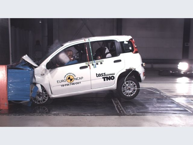 Fiat Panda - 2018 - Crash test Euro NCAP - Crash test offset