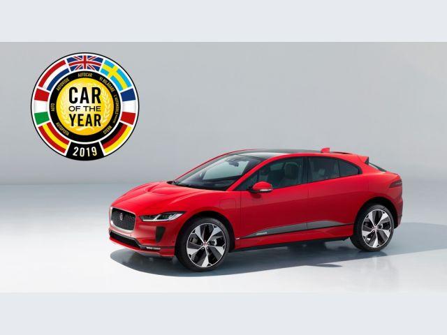Auto dell'Anno 2019 - Jaguar I-Pace (miniatura)