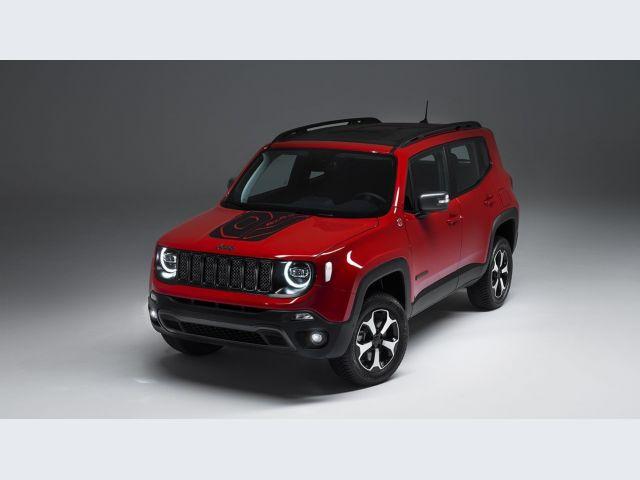 Jeep ibride plug-in - la vista anteriore (miniatura)